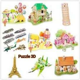 Mainan Puzzle 3D Jigsaw