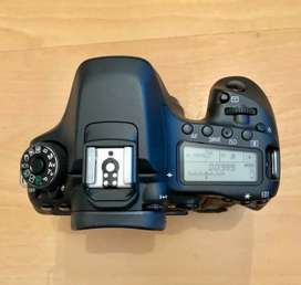 Canon 80d sealed