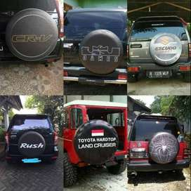 Cover/Sarung Ban Toyota Rush/Terios/Panther/CRV KeceOke kuadrat  sudah