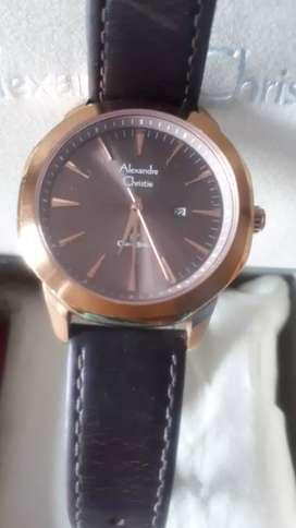 Jam tangan wanita / pria alexandre christie