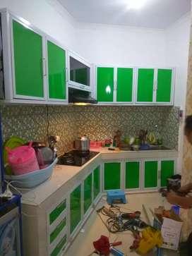 Aplikator pembuatan lemari dapur aluminium yang handal