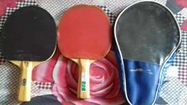 Gki kung fu t.t. racket. Set of 2 racket and cover