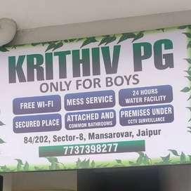 Krithiv Male P.G. & Tiffin Center