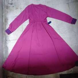 Dijual Gamis Warna Pink
