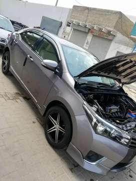 Corolla gli available for outer city service