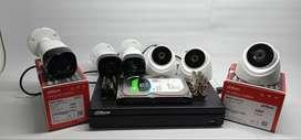 PROMO CCTV DAHUA 2.0MP PEMASANGAN 6 KAMERA ORIGINAL