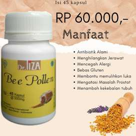 Daya Tahan Tubuh Bee Pollen Liza Herbal