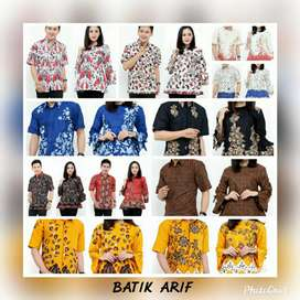 Kemeja dan tunik batik