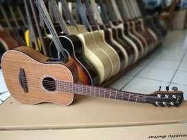 Gitar akustik elektrik 3/4