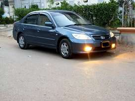 honda civic exi prosmetic 2005 auto