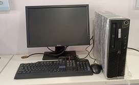 Lenovo Thinkcentre core 2 duo 4Gb Ram 250 GB HDD