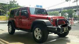 Jeep Wrangler Rubicon JK Platinum Diesel CRD 2014 Merah