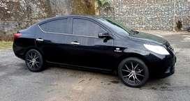 Nissan Almera 2013 MT Black
