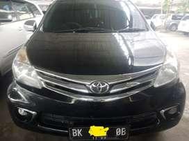 Toyota Avanza G 2014 m/t hitam