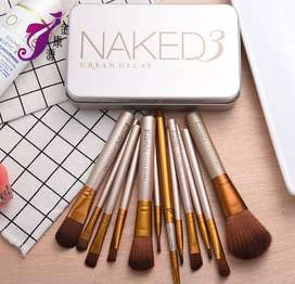 NAKED 3 Professional Makeup Brush Set of 12 Brushes - Urban Decay