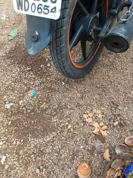 Good condition bike little used money problem .
