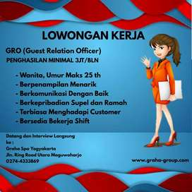 Lowongan GRO (Guest Relation Officer)