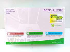 MT-Link wifi router TRIPLE antenna
