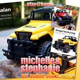 M&S RCKAIKKI09 - 2020 Kaikki Mainan Mobil Remote Control Jeep Skala1.2