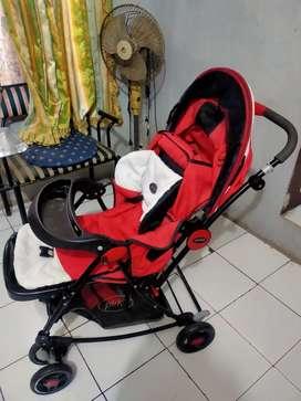 Stroller Pliko Bebesitos B/S 368R - Kereta Dorong Anak