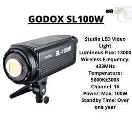 READY GODOX SL100W !! GARANSI RESMI 1 TAHUN