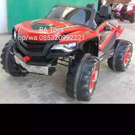 Mobil aki cas model jeep ukuran besar
