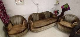 3 piece Sofa set for 3 +2 seating