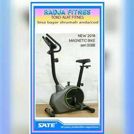 Jual alat fitnes SIDOARJO //magnetik bike sepeda statis user 130kg