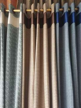 We made sofa  curtains on order also available ready made