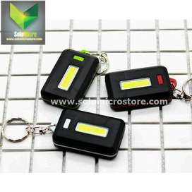 TaffLED Lampu Led Senter LED Model Kunci Mobil Motor COB 450 Lumens
