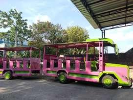 kereta mini wisata muat banyak orang odong odong promo ekonomis