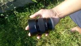 Sony E mount 50mm 1.8 lens