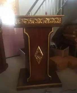 mimbar masjid biasa jati 02