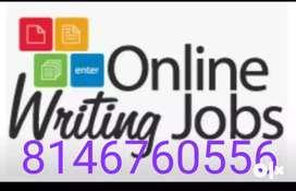 Description online work at home based job