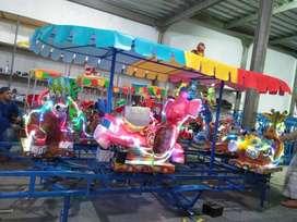 odong odong kereta panggung animal fiber promo DCN