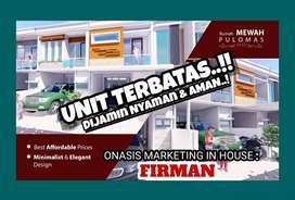 Rumah Baru Cluster Pulomas, Jakarta Timur. Harga apartemen.