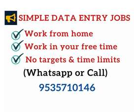 Part time jobs for students, housewifes and others.Monthly 30k