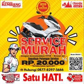 Service motor Honda