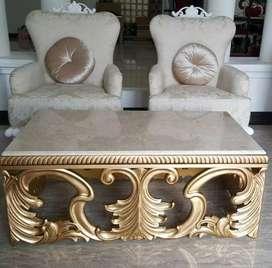 Kursi teras atau kursi santai, kayu jati gread b open, free ongkir