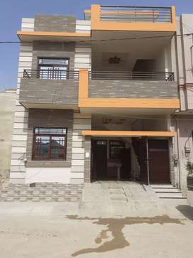 120 yards new double story house sell in block-5, saadi town
