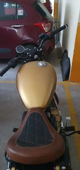 Selling my modified royal enfield 500cc bullet