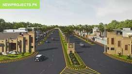 10 Marla Plot Sale A Block 60 Fit Road 644No Onground New Lahore City