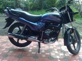 Hero Honda Passion plus with alloy wheels