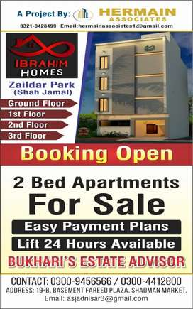 4 Marla 4 storey built in brand new apartments