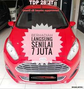 Ford Fiesta S AT 2014/2015 Merah Istimewa Full  Orisinil