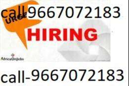 Hiring 10th,12th,supervisor automobile company.