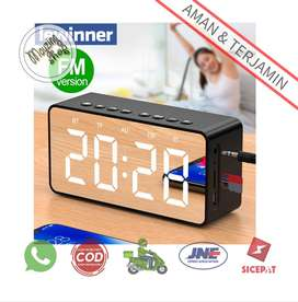 Lewinner 506 Jam Alarm Clock Bluetooth Speaker