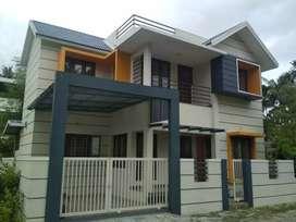 3 bhk 1500 sqft new build house at paravur town near peruvaram