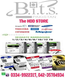Desktop & Laptop Hard Drives with 1 Year Replacement Warranty