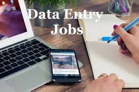 Simple Data Entry/Online work from home/Typing /Part Time / Full Time